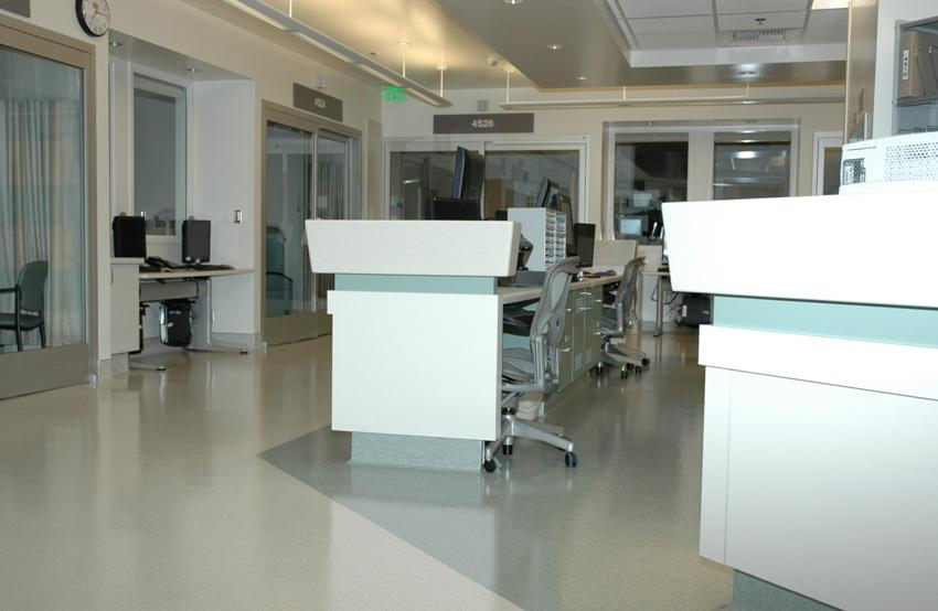 Saperstein Critical Care Tower Los Angeles Ca